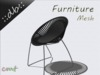::db furniture:: Black design chair