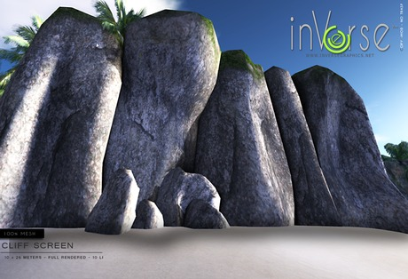 inVerse_ Cliff screen *mesh*