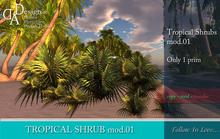 Tropical Shrubs mod.01 COPY VERSION