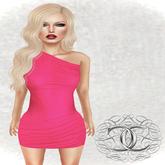 [Cavalieri]- Serena Dress Hot Pink