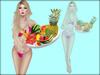 Boudoir -Wearable Summer Fruits Plate