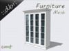 ::db furniture:: White wooden Vitrine