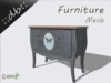 ::db furniture:: Commode Butterfly