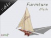 ::db furniture:: Smal Ship decor voilier