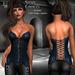 DE Designs - Sonya - Corset - Blue