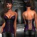 DE Designs - Sonya - Corset - Purple