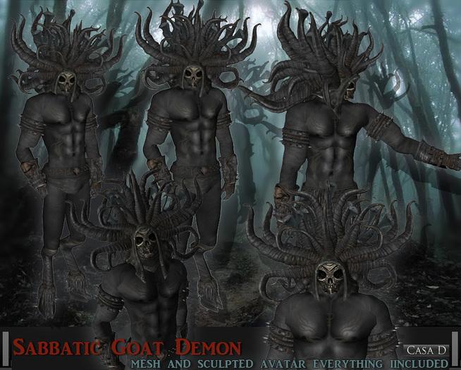 Sabbatic Goat Demon Avatar