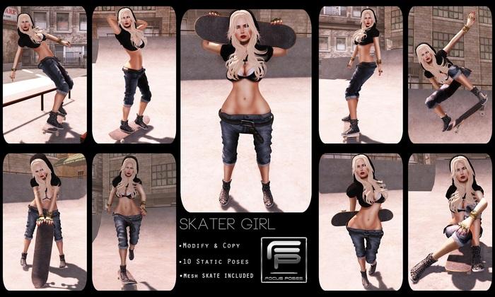 :: Focus Poses Skater Girl ::