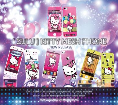 [ Z U L U ] Phone Cat Mesh (Version 2.4)