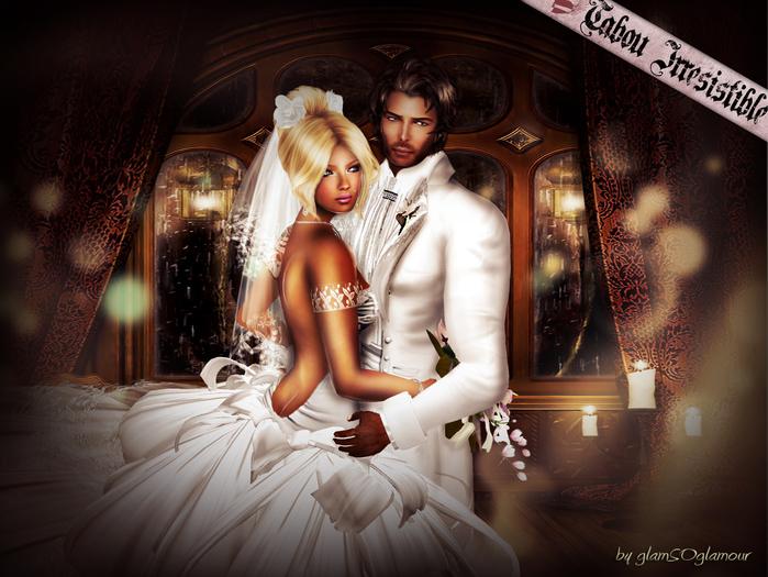 Tabou Irresistible:: Protect me - couple pose - Box