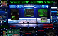 Space ship Candy Star