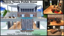 Furnished Mansion Prefab House by Artisan Prefabs
