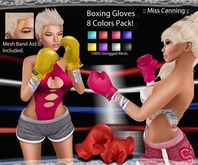 :: Miss Canning ::[ Boxing Gloves] 8  Colors Pack!