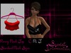 Si ad penny mesh top red