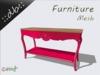 ::db furniture:: Console rose