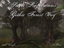 ~*SR*~ Gothic Forest Way m/t Box
