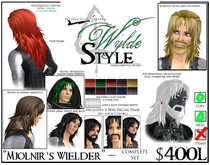 - Mjolnir's Wielder - A Wylde Style by Khyle Sion at ~RW~