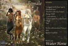 ~*WH*~ Mesh Faun Avatar - Female (megapack)