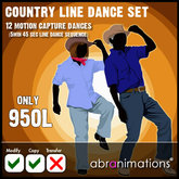 * Country Line Dance Set - Abranimations *