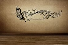 Butterfly Music Wall Sticker