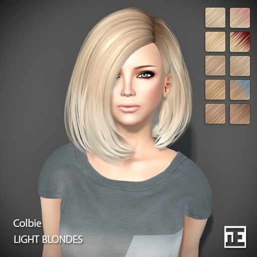 TRUTH HAIR Colbie (Mesh Hair) - light blondes