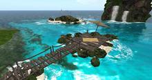 Sundeck Pier By Felix ( outside / off sim Tiki inside sim dock deck )