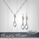 :::Krystal::: Simply Sweet - Set - Rose Gold