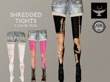 Lark - Shredded Tights (3 color pack)