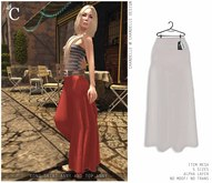 - CHANDELLE - Long Skirt Anny white
