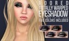 #adored - totally warped eyeshadows