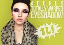 #adored - dollarbie! totally warped eyeshadow