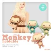 *MishMish* Monkey Holdable Pet