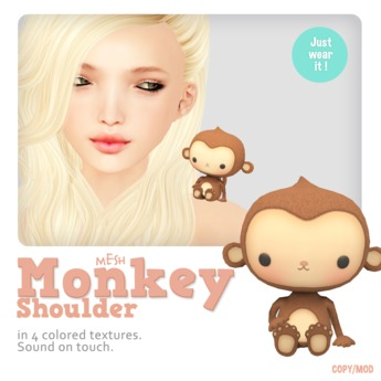 *MishMish* Monkey Shoulder Pet