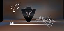AFantasy Dragon Heart Pendant Necklace