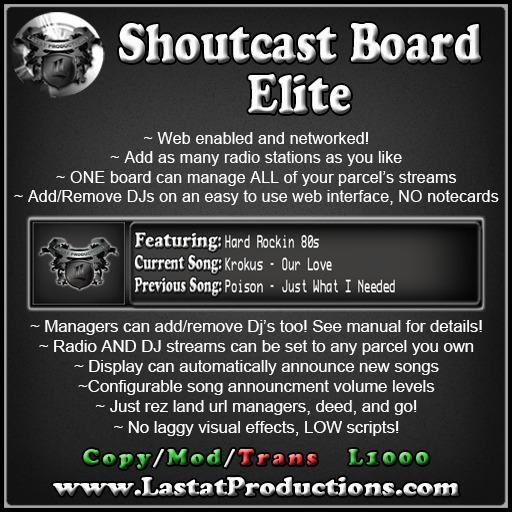 ShoutCast Board Elite