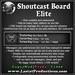 Shoutcast board elite pic
