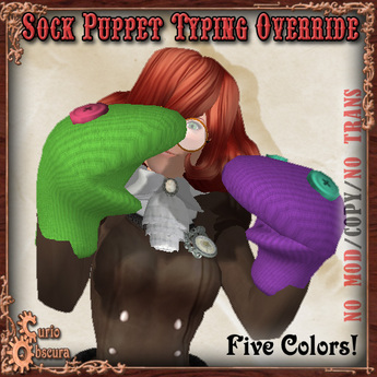 Curio Obscura - Sock Puppets Typing Override