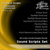 Sound Scripts Set - Full Perm Package