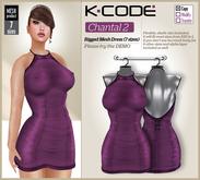 K-CODE Chantal 2 - Rigged Mesh Dress