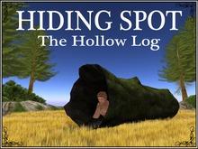 Bad Eddy's - Hollow Log Hiding Spot