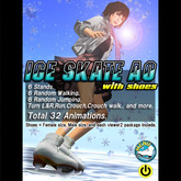 :KH: Ice Skate AO with Shoes