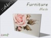 ::db furniture:: Oil Picture romantic Rose
