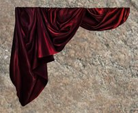 NB curtains drapes drappeggio deeper red 2