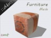 ::db furniture:: Old Leather Pouf