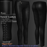 DE Designs - Rune - Natural Leathers - Black