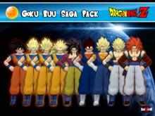 DBZ - Buu Saga - Goku - Pack