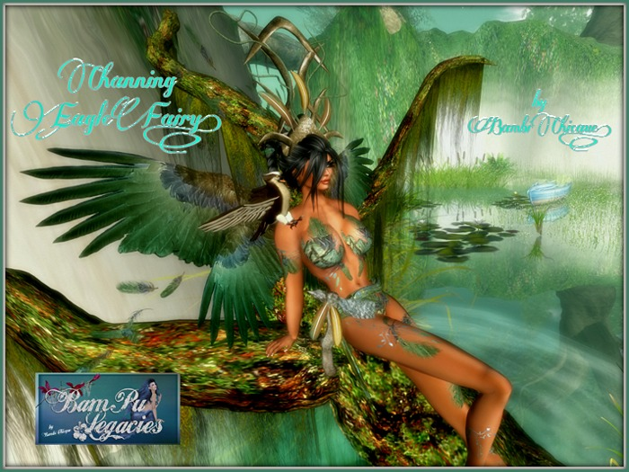CHANNING EAGLE FAIRY Ladies Fat Pack Set wPoses & Props