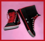 ☆4A Footwear, Shoes, Sneakers, Chucks, High Tops, Basketball Shoes, Gym Shoes ☆ With A Resizer to get that perfect fit.