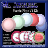 TD Mesh Plastic Plate Kit