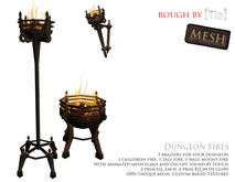 [Tia] Dungeon Fires - Set of 3 (Boxed)